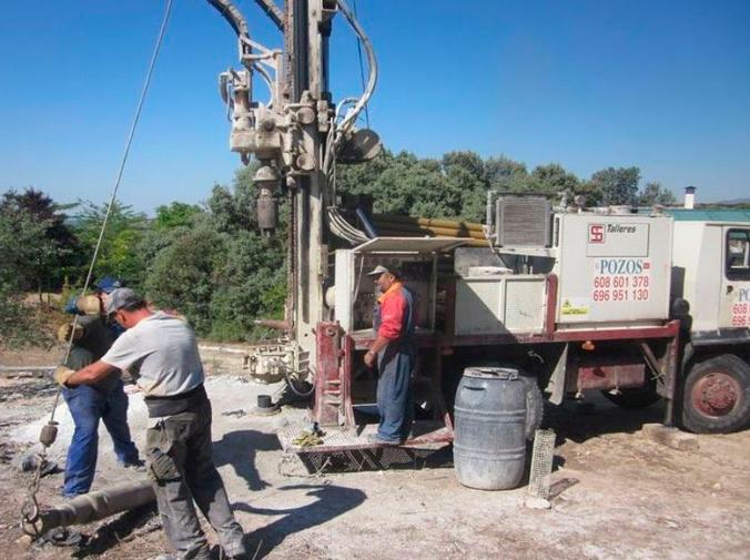 Captar aguas subterráneas por bombeo