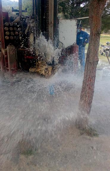 Pozo de agua en San Martín de Valdeiglesias